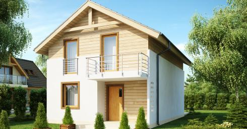 Проект дома Z38 иллюстрация 1