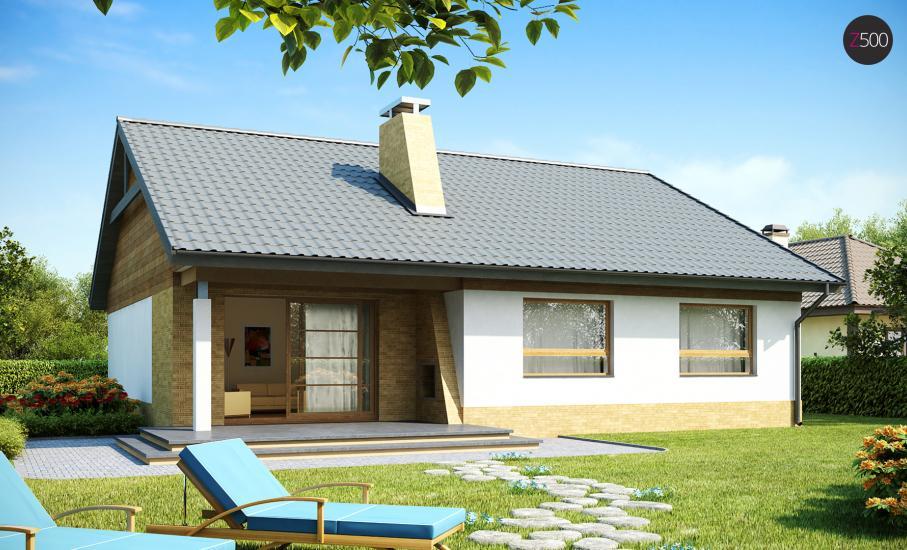 Проект дома Z41 иллюстрация 1