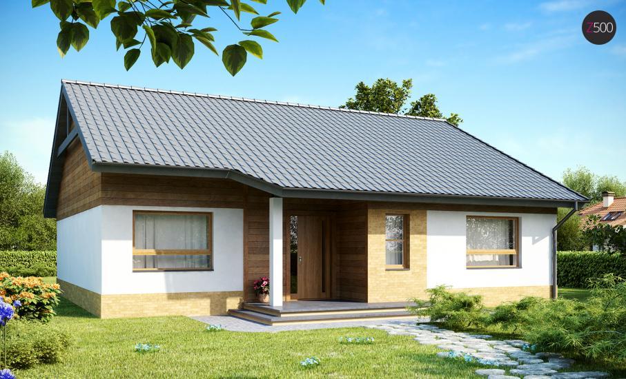 Проект дома Z41 иллюстрация 2
