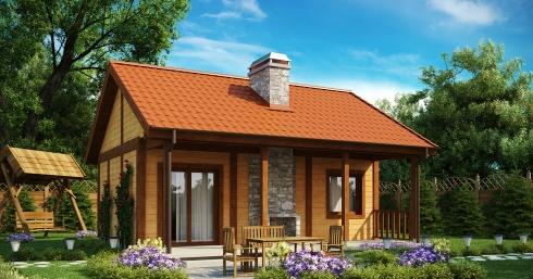 Проект дома Z42 иллюстрация 1