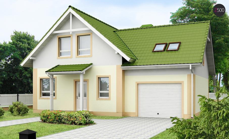 Проект дома Z43 иллюстрация 1