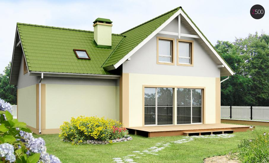 Проект дома Z43 иллюстрация 2