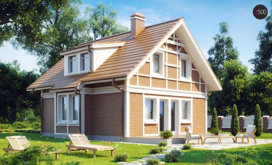 Проект дома Z44 иллюстрация 2