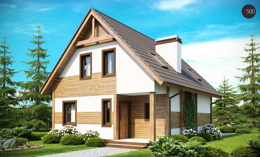 Проект дома Z45 иллюстрация 2