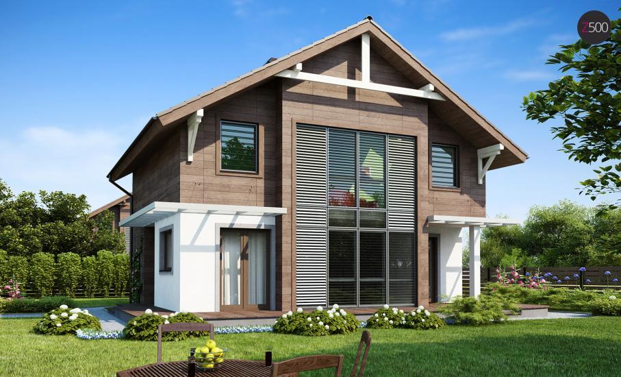 Проект дома Z47 иллюстрация 1
