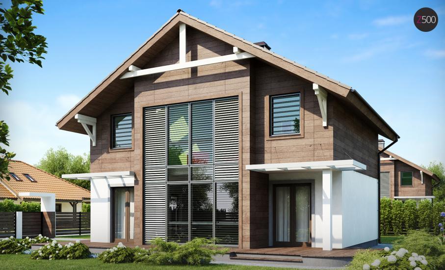 Проект дома Z47 иллюстрация 3