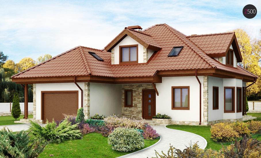 Проект дома Z58 иллюстрация 1