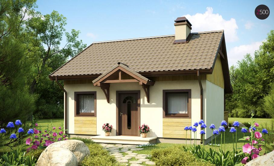 Проект дома Z60 иллюстрация 1