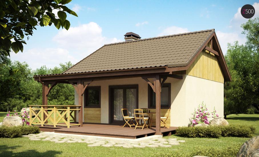 Проект дома Z60 иллюстрация 2