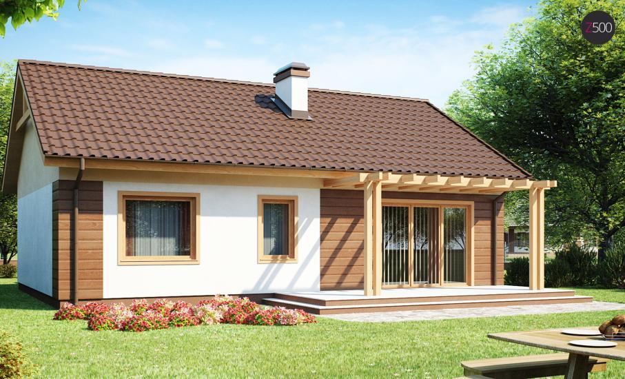 Проект дома Z61 иллюстрация 2
