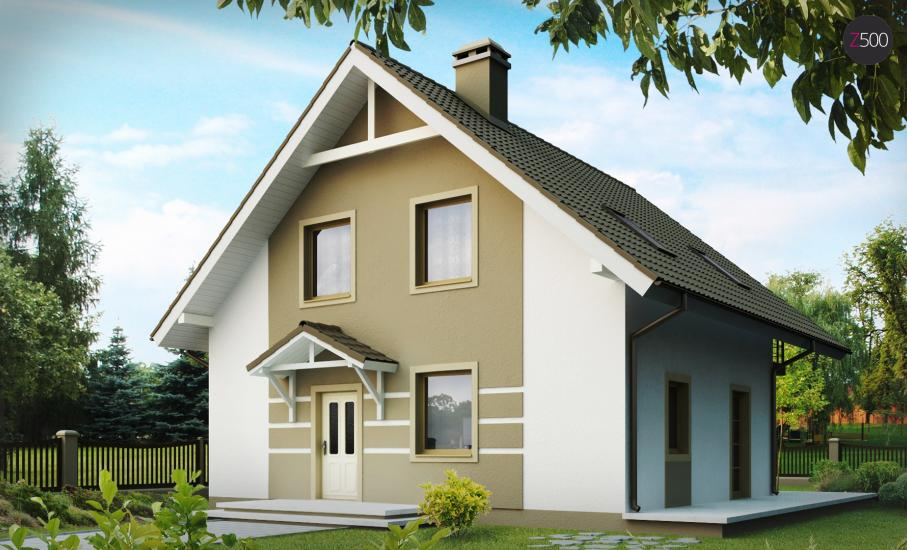 Проект дома Z62 иллюстрация 2