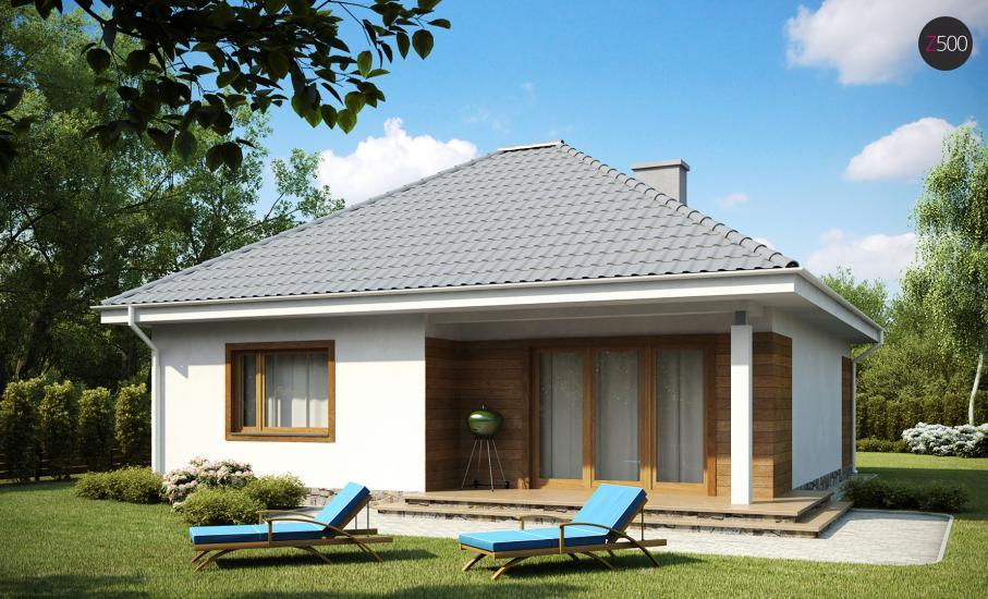 Проект дома Z64 иллюстрация 1
