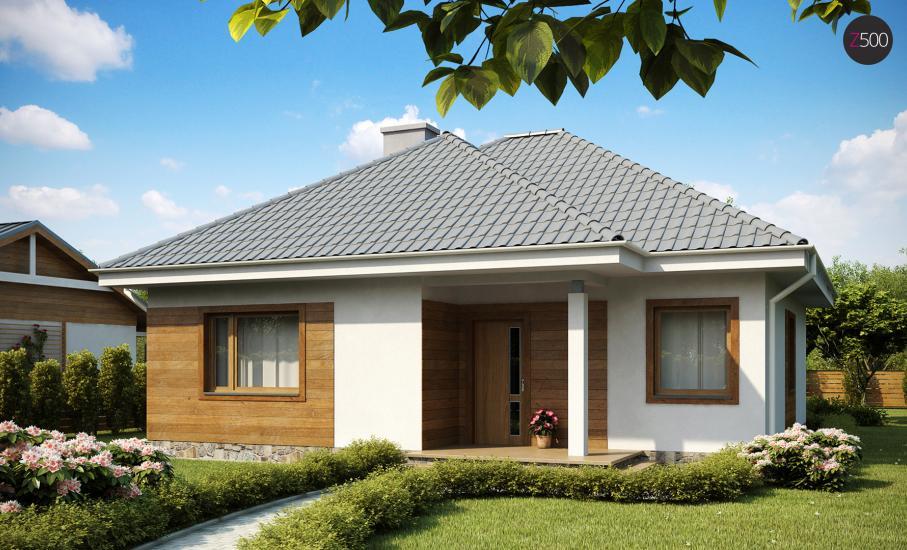 Проект дома Z64 иллюстрация 2