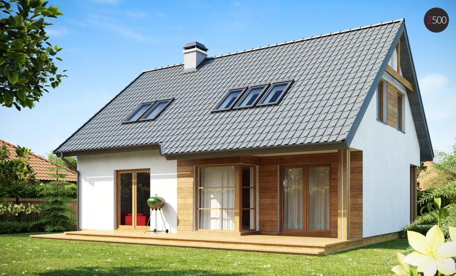 Проект дома Z66 иллюстрация 1