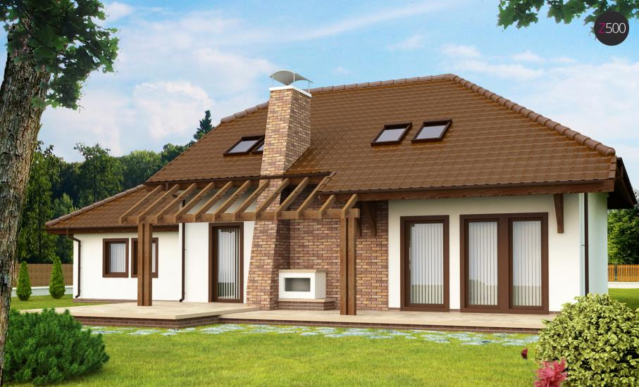Проект дома Z67 иллюстрация 2