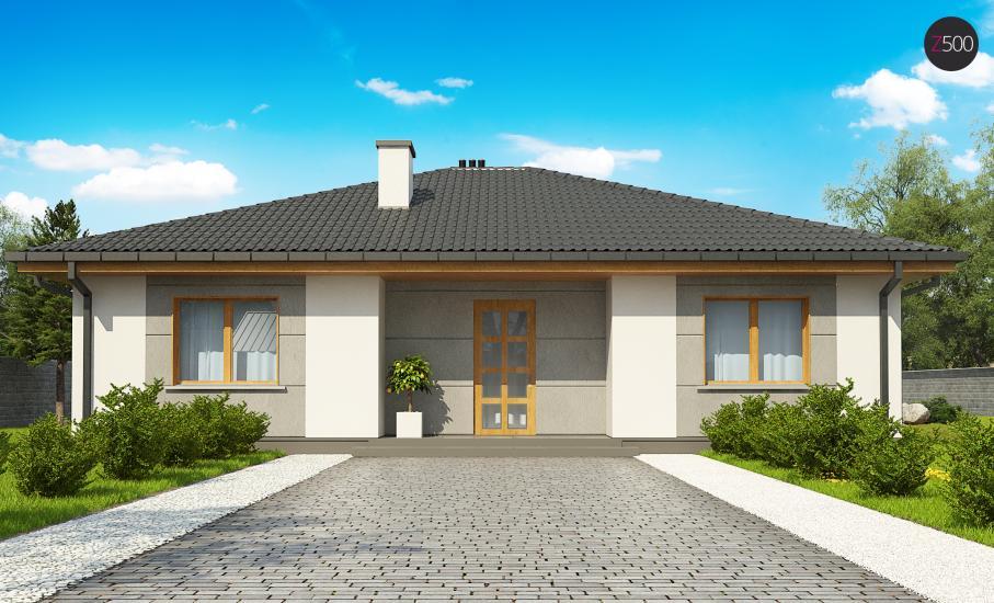 Проект дома Z67 иллюстрация 3