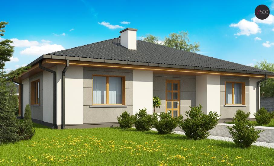 Проект дома Z67 иллюстрация 4