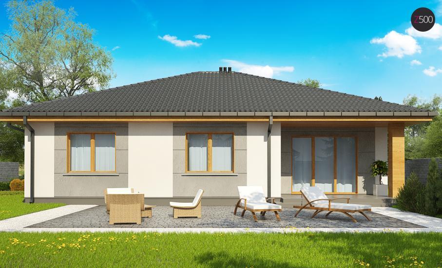 Проект дома Z67 иллюстрация 5