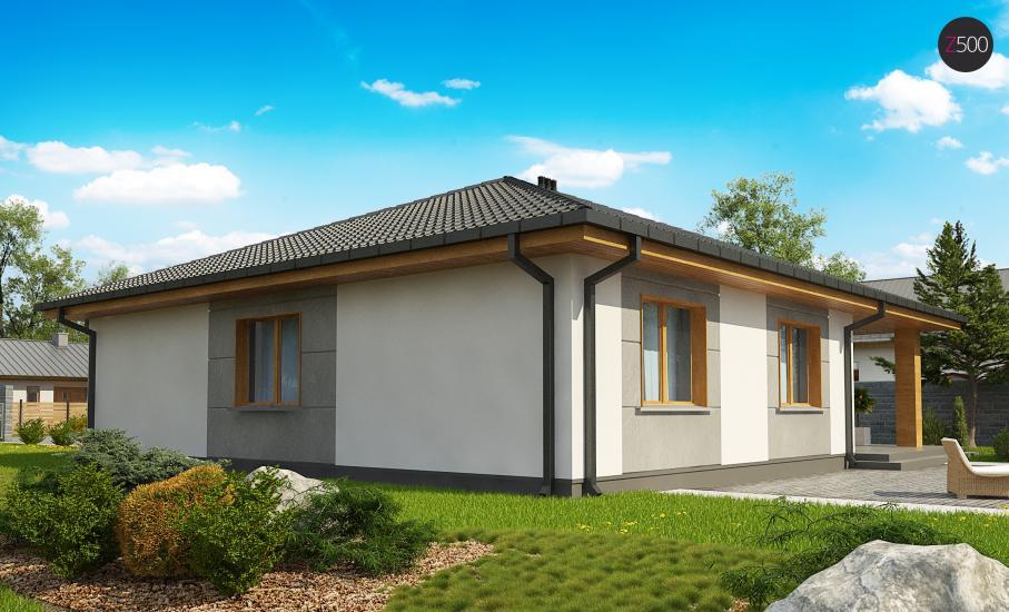 Проект дома Z67 иллюстрация 6