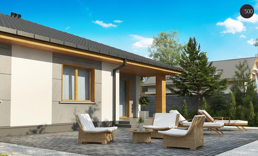 Проект дома Z67 иллюстрация 7