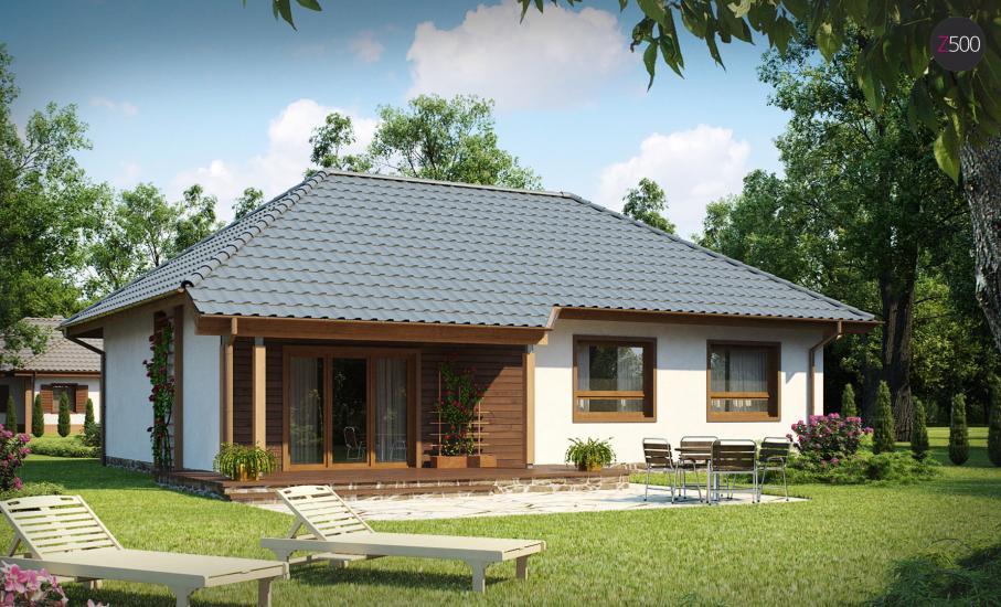 Проект дома Z69 иллюстрация 1