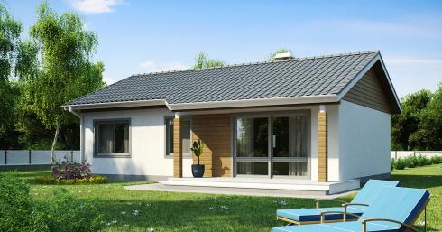 Проект дома Z7 иллюстрация 1