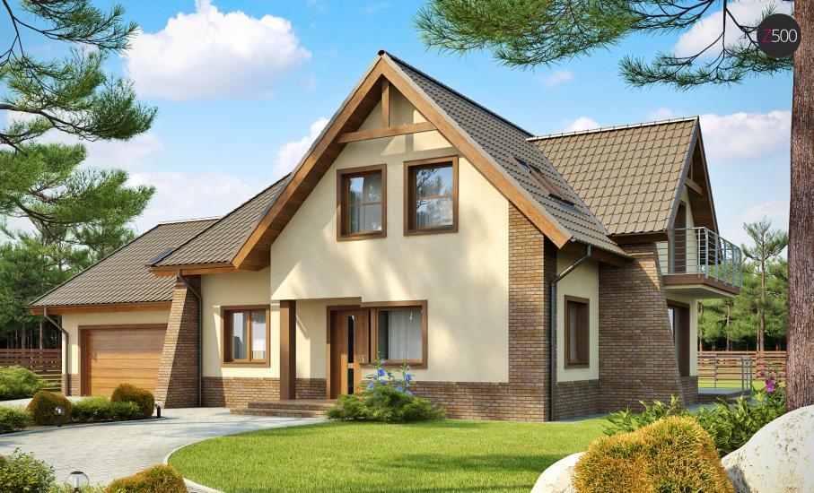 Проект дома Z70 иллюстрация 1
