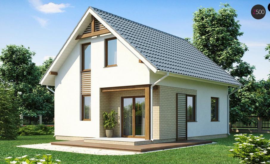 Проект дома Z71 иллюстрация 2