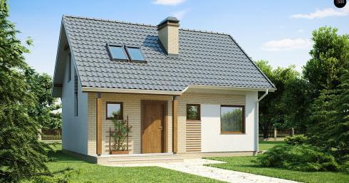Проект дома Z71 иллюстрация 1