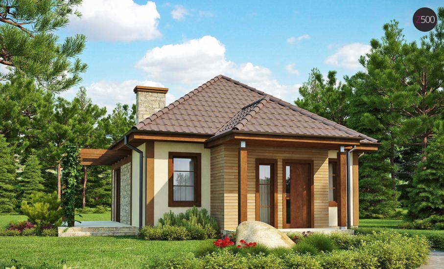 Проект дома Z73 иллюстрация 1