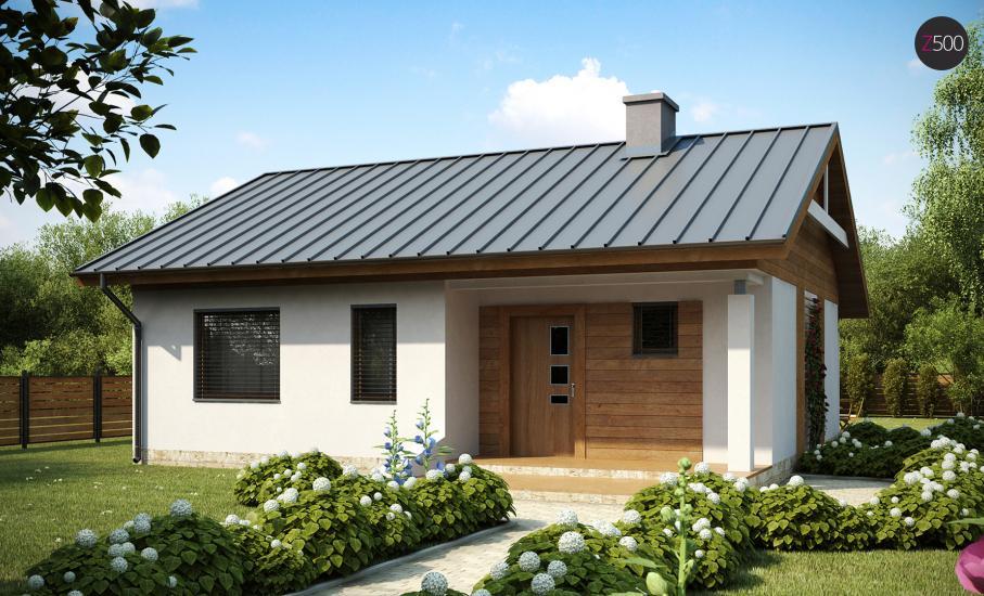 Проект дома Z78 иллюстрация 1