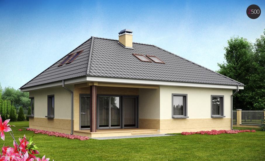 Проект дома Z84 иллюстрация 1