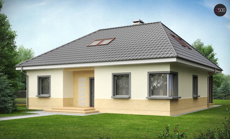 Проект дома Z84 иллюстрация 2