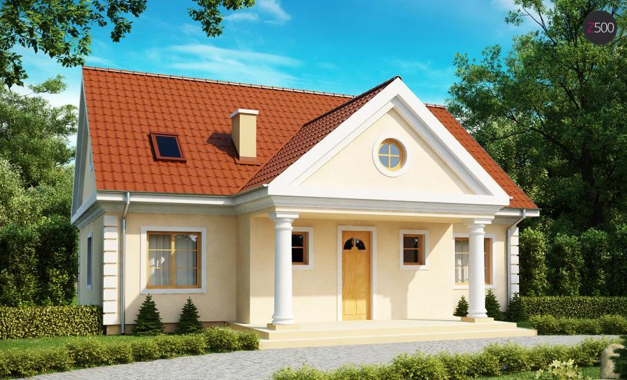 Проект дома Z9 иллюстрация 2