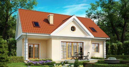 Проект дома Z9 иллюстрация 1
