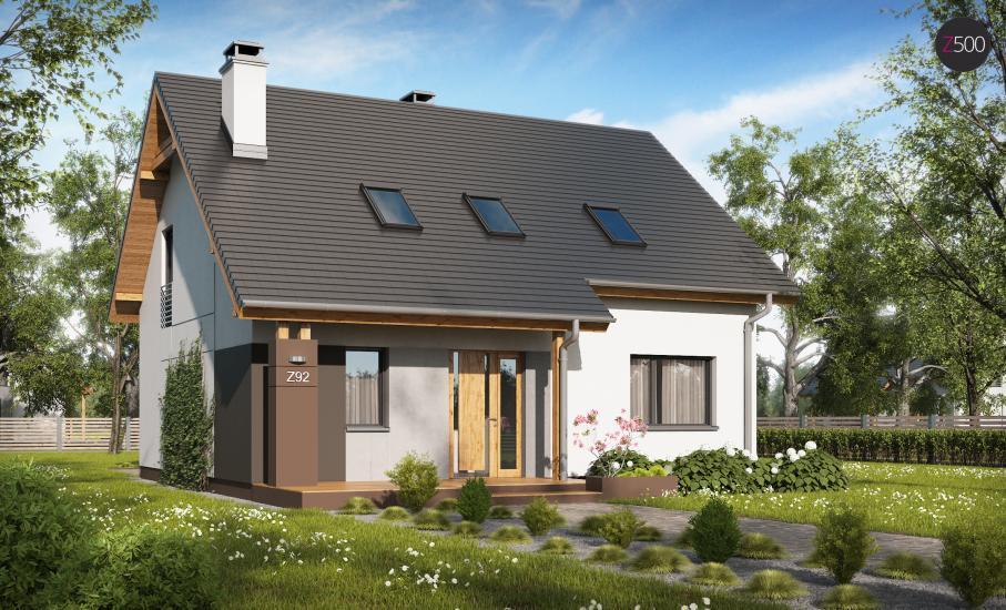 Проект дома Z92 иллюстрация 1