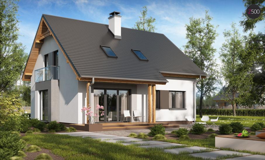 Проект дома Z92 иллюстрация 2