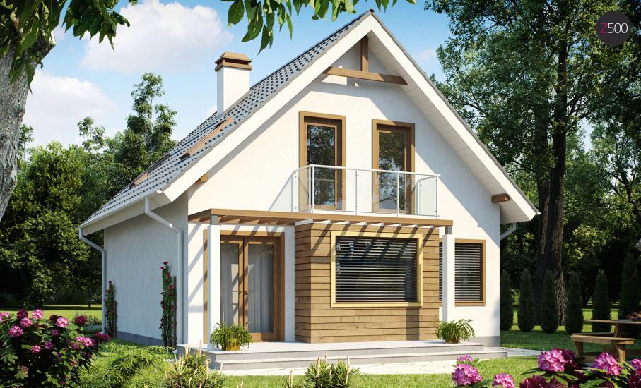 Проект дома Z99 иллюстрация 1