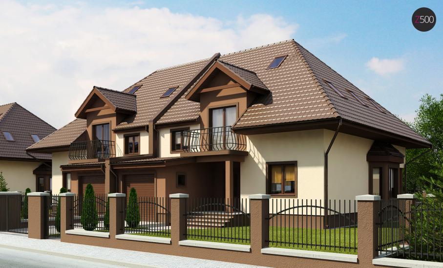 Проект дома Zb1 иллюстрация 1