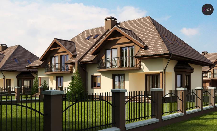 Проект дома Zb1 иллюстрация 2