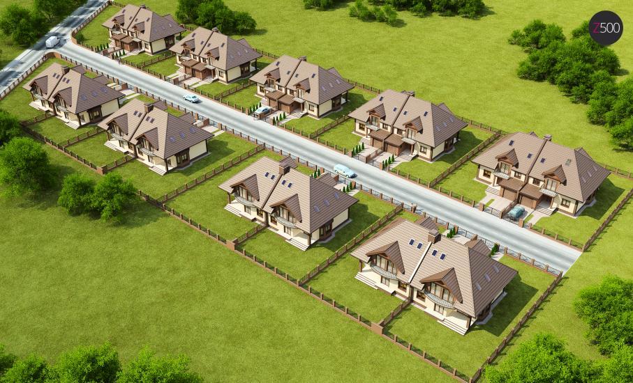 Проект дома Zb1 иллюстрация 3