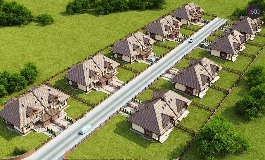 Проект дома Zb1 иллюстрация 4