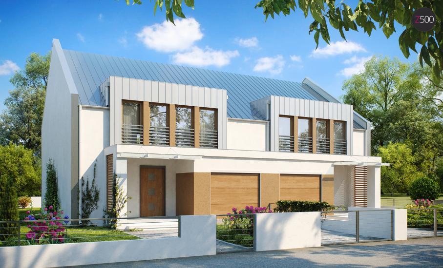 Проект дома Zb5 иллюстрация 1