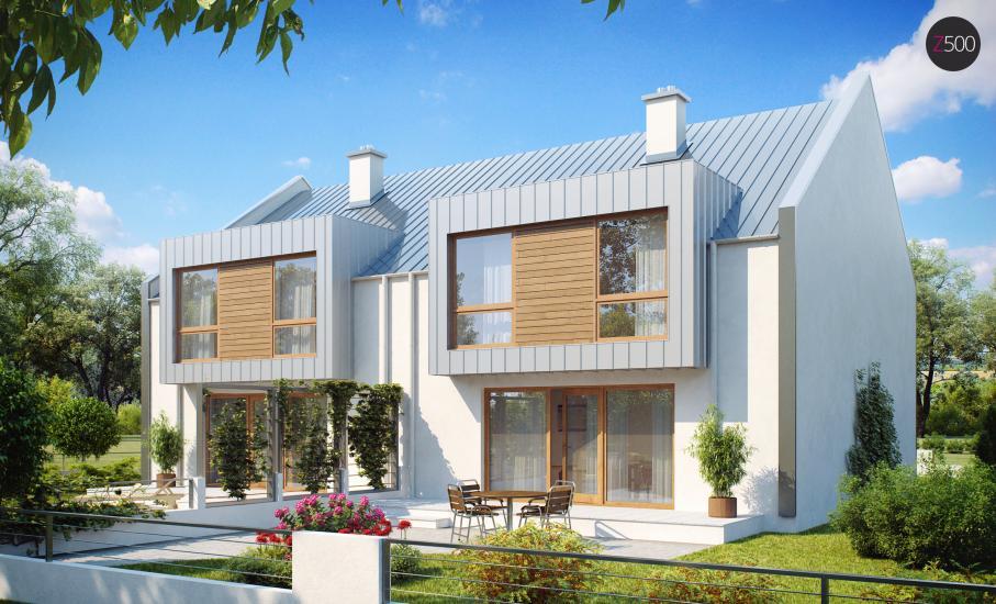 Проект дома Zb5 иллюстрация 2