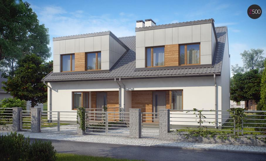 Проект дома Zb7 иллюстрация 1