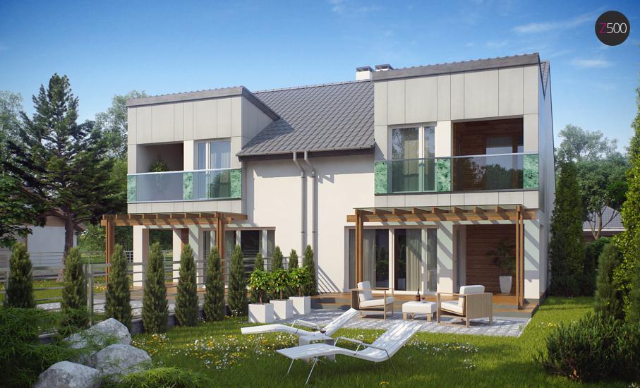 Проект дома Zb7 иллюстрация 2