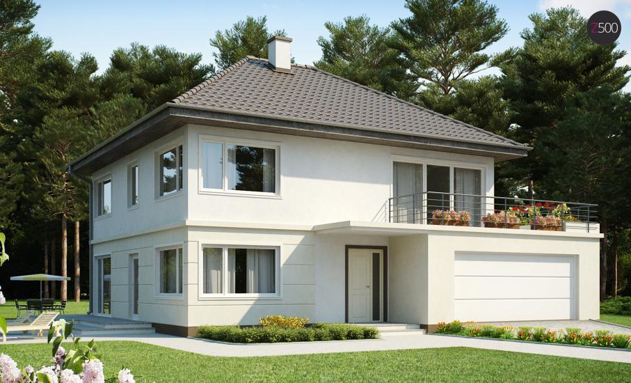 Проект дома Zx10 иллюстрация 1