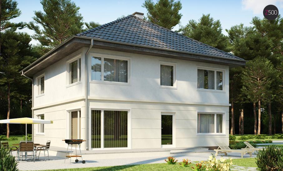 Проект дома Zx10 иллюстрация 2