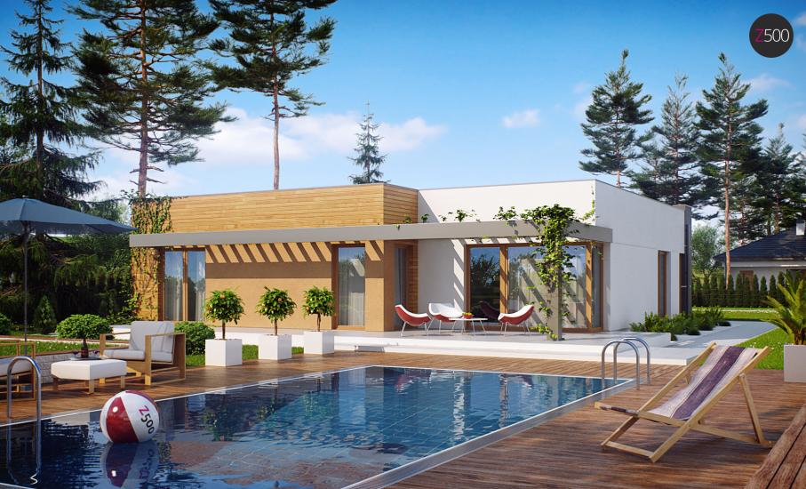 Проект дома Zx100 иллюстрация 2