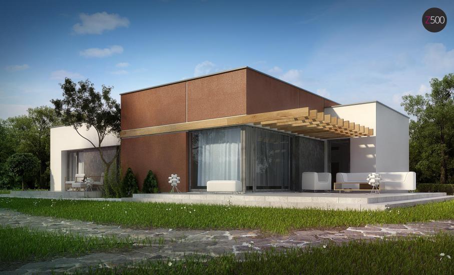 Проект дома Zx101 иллюстрация 1
